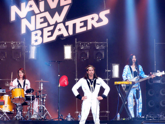 David Boring, chanteur des Naive New Beaters